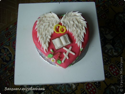 Торт на крыльях ангела красивые