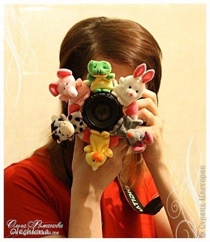 Игрушка Шитьё: Завлекалочка на объектив в помощь фотографу! Ткань