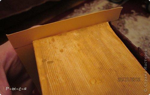 Мастер-класс Аппликация: Книга шкатулка (1часть) Бумага, Гуашь, Картон 8 марта, День учителя, Начало учебного года, Новый год. Фото 22