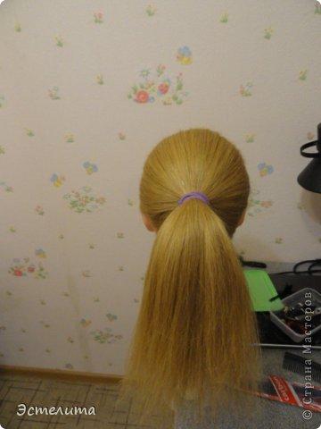 Мастер-класс, Прическа Плетение: МК шишечки-колосок. Фото 2
