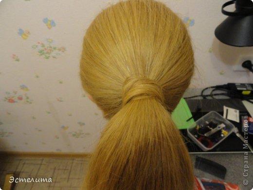 Мастер-класс, Прическа Плетение: МК шишечки-колосок. Фото 4