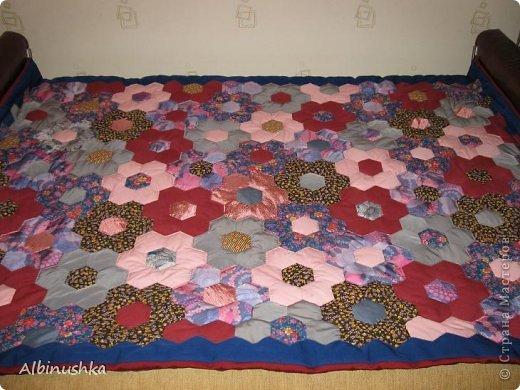 Пэчворк: Одеяло из
