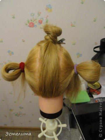 Мастер-класс, Прическа Плетение: МК узлового плетения. Фото 2
