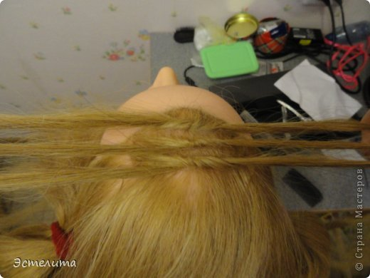 Мастер-класс, Прическа Плетение: МК узлового плетения. Фото 5