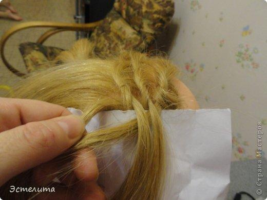 Мастер-класс, Прическа Плетение: МК узлового плетения. Фото 6