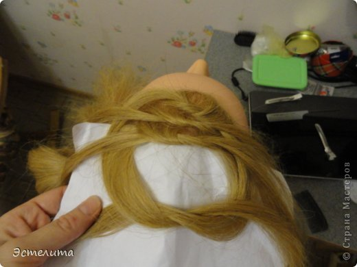 Мастер-класс, Прическа Плетение: МК узлового плетения. Фото 8