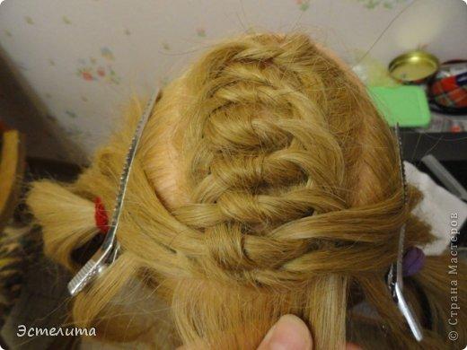 Мастер-класс, Прическа Плетение: МК узлового плетения. Фото 10