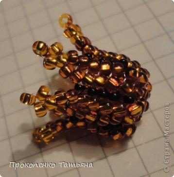 Мастер-класс Бисероплетение: Колпачок колокольчик-такаая нужная деталька! Бисер. Фото 1