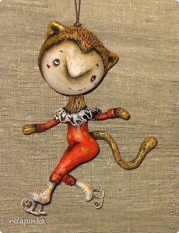 Куклы Папье-маше: Неведома зверушка (м-к) Бумага Новый год. Фото 1
