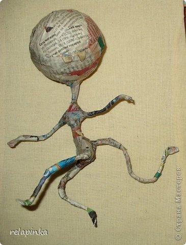 Куклы Папье-маше: Неведома зверушка (м-к) Бумага Новый год. Фото 11