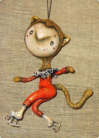 Куклы Папье-маше: Неведома зверушка (м-к) Бумага Новый год. Фото 38