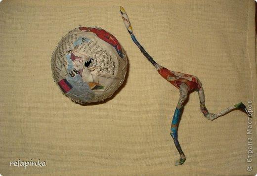 Куклы Папье-маше: Неведома зверушка (м-к) Бумага Новый год. Фото 9