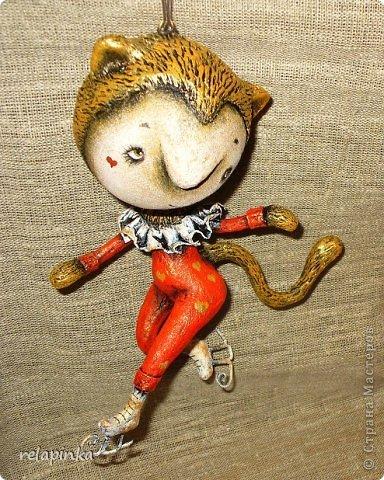 Куклы Папье-маше: Неведома зверушка (м-к) Бумага Новый год. Фото 42