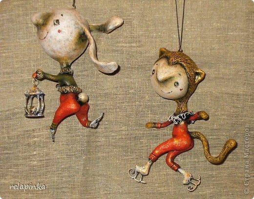 Куклы Папье-маше: Неведома зверушка (м-к) Бумага Новый год. Фото 43