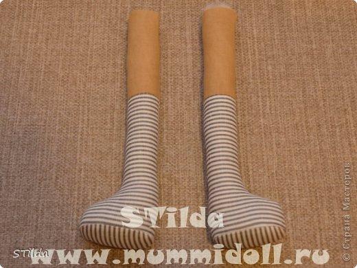 Куклы, Мастер-класс, Поделка, изделие Конструктор, Шитьё: Как изготовить обувь на плоской подошве для текстильной куклы Ткань. Фото 7
