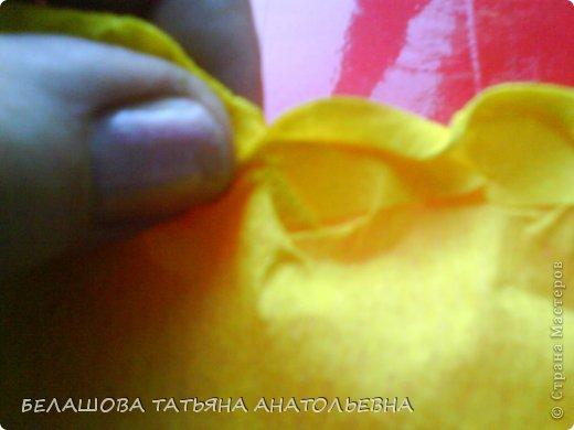 Мастер-класс Бумагопластика: Мастер класс:Как сделать оригинальный подарок. Бумага гофрированная, Бусинки 8 марта. Фото 5