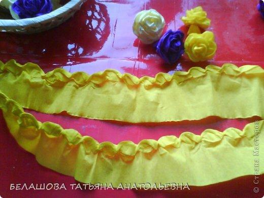 Мастер-класс Бумагопластика: Мастер класс:Как сделать оригинальный подарок. Бумага гофрированная, Бусинки 8 марта. Фото 6