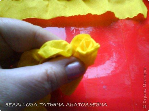 Мастер-класс Бумагопластика: Мастер класс:Как сделать оригинальный подарок. Бумага гофрированная, Бусинки 8 марта. Фото 7