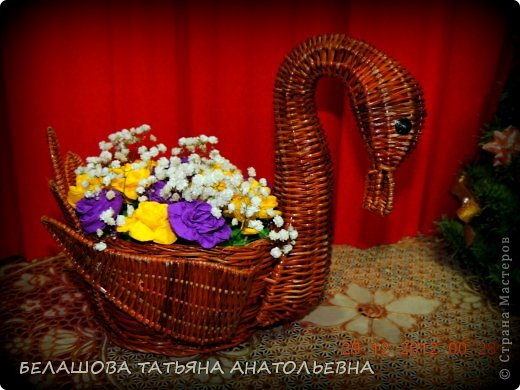 Мастер-класс Бумагопластика: Мастер класс:Как сделать оригинальный подарок. Бумага гофрированная, Бусинки 8 марта. Фото 21