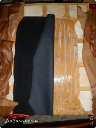 """Мастер-класс Коллаж: Картина из кожи """"Букет Лилий"""". Мастер-класс. Кожа. Фото 22"""