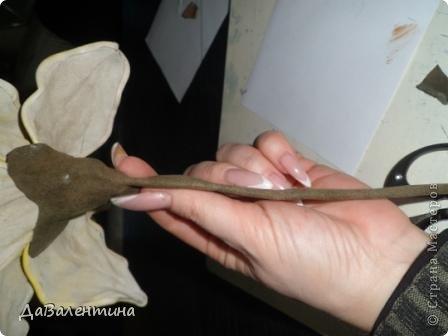 """Мастер-класс Коллаж: Картина из кожи """"Букет Лилий"""". Мастер-класс. Кожа. Фото 26"""