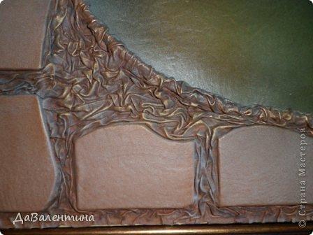 """Мастер-класс Коллаж: Картина из кожи """"Букет Лилий"""". Мастер-класс. Кожа. Фото 28"""