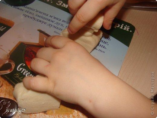 Мастер-класс Лепка: Светильнички-сувенирчики. Домик для гномика Тесто соленое. Фото 24