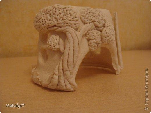 Мастер-класс Лепка: Светильнички-сувенирчики. Домик для гномика Тесто соленое. Фото 42