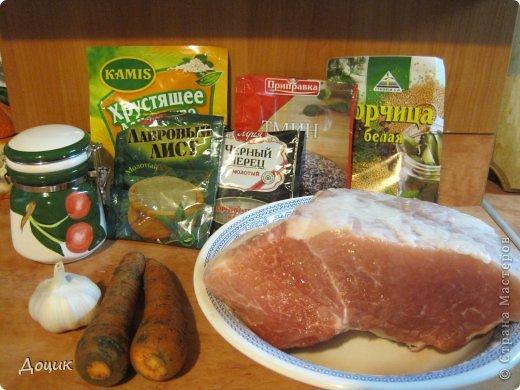 Кулинария, Мастер-класс Рецепт кулинарный: Буженина - сочная и ароматная... Продукты пищевые. Фото 2