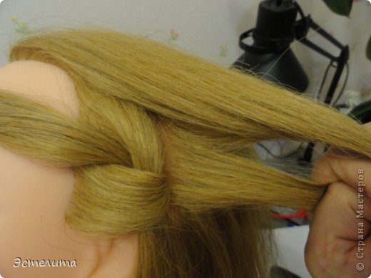 Мастер-класс, Прическа Плетение: МК ещё одна комбинация. Фото 6