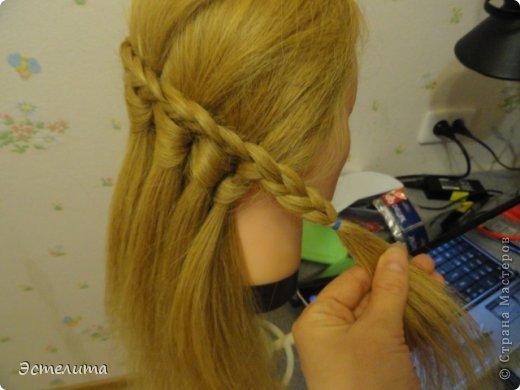 Мастер-класс, Прическа Плетение: МК ещё одна комбинация. Фото 11