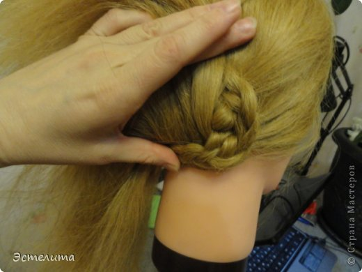 Мастер-класс, Прическа Плетение: МК ещё одна комбинация. Фото 12