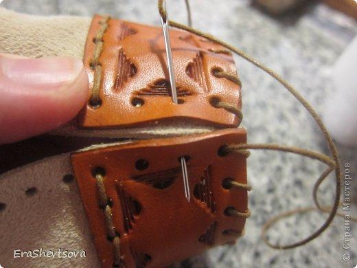 Мастер-класс Шитьё: Мешочек из замши Кожа. Фото 24