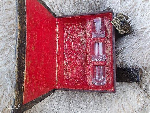 Декор предметов, Мастер-класс, Поделка, изделие Моделирование: Сказка для взрослых. +МК по мини-бару Картон, Материал бросовый 23 февраля. Фото 3