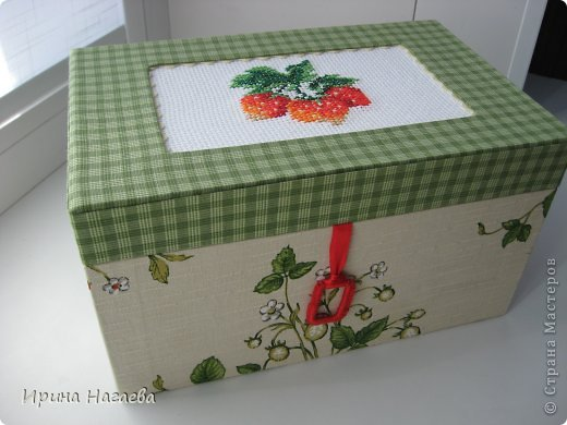 Рукоделие коробочки шкатулки