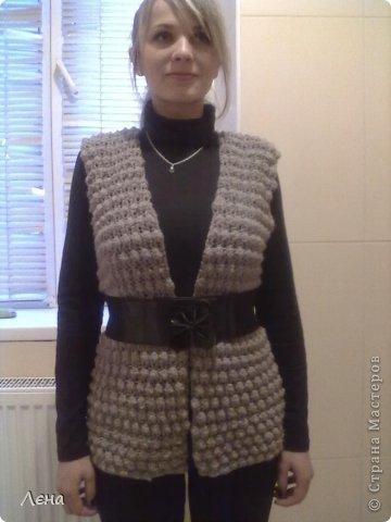 Вязание жилетов для женщин мастер класс