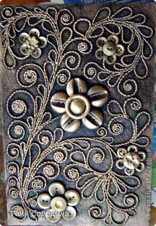 Декор предметов Бумагопластика: Пейп-арт...продолжение. Мини МК  по скручиванию жгутов. Салфетки. Фото 3