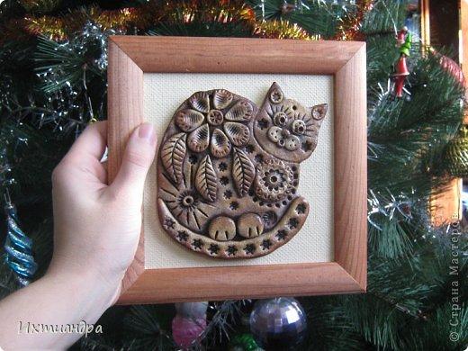 Поделка, изделие Лепка: Пряничные котики Тесто соленое День рождения. Фото 12