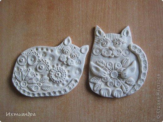 Поделка, изделие Лепка: Пряничные котики Тесто соленое День рождения. Фото 14