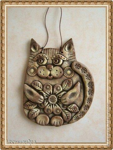 Поделка, изделие Лепка: Пряничные котики Тесто соленое День рождения. Фото 15