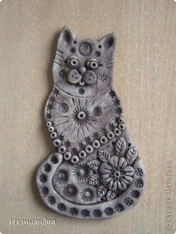 Поделка, изделие Лепка: Пряничные котики Тесто соленое День рождения. Фото 4
