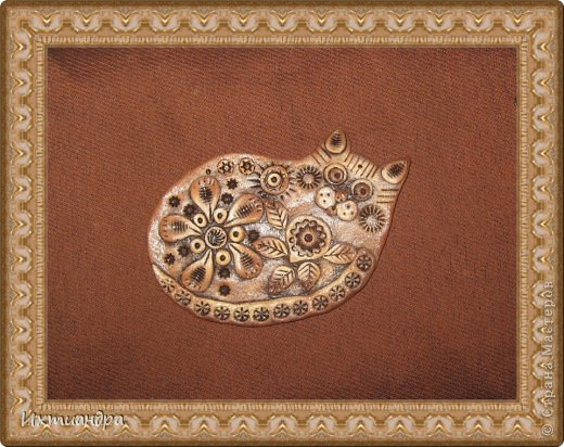 Поделка, изделие Лепка: Пряничные котики Тесто соленое День рождения. Фото 8