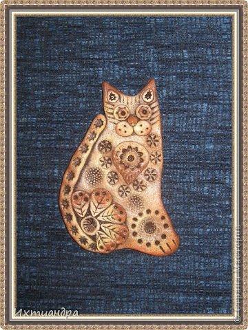 Поделка, изделие Лепка: Пряничные котики Тесто соленое День рождения. Фото 9