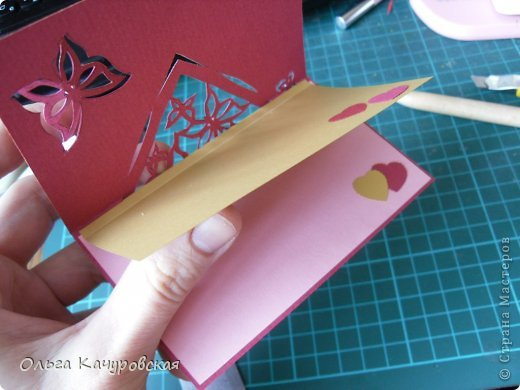 Чем можно украсить открытку внутри