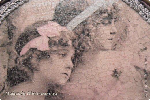 Поделка, изделие Плетение: Винтаж. Бумага газетная Валентинов день. Фото 3