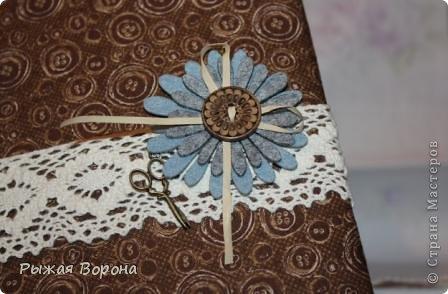"""Скрапбукинг: Блокнот для рукодельницы """"Пуговка"""" =). Фото 4"""