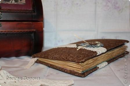 """Скрапбукинг: Блокнот для рукодельницы """"Пуговка"""" =). Фото 2"""