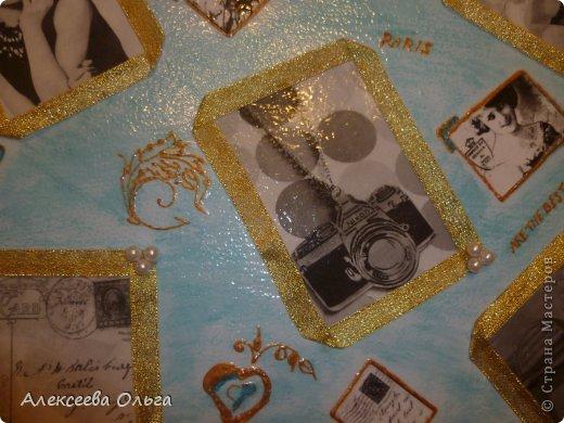 Декор предметов Декупаж: Чемодан Бусинки, Краска, Материал бросовый. Фото 6