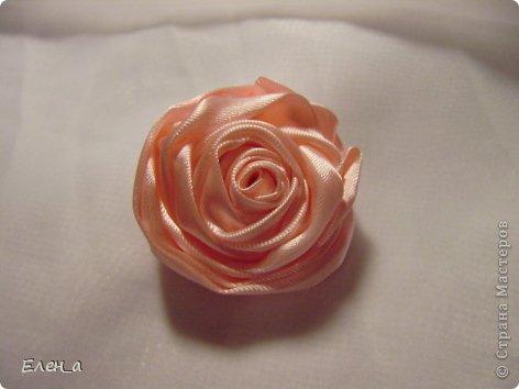 Мастер-класс Шитьё: Роза, как делаю её я, МК Ленты. Фото 1