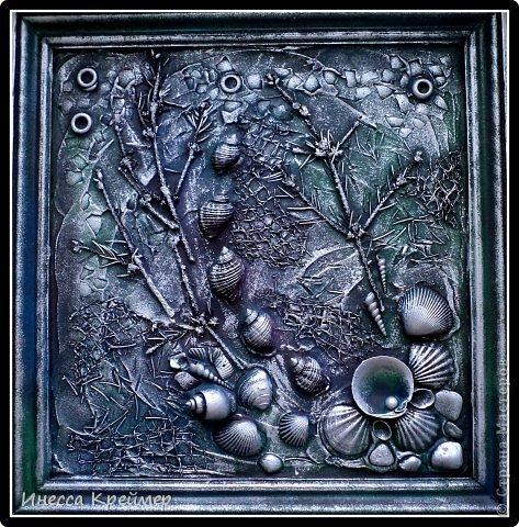 Картина, панно, рисунок Ассамбляж: ТЕРРА Материал природный. Фото 1